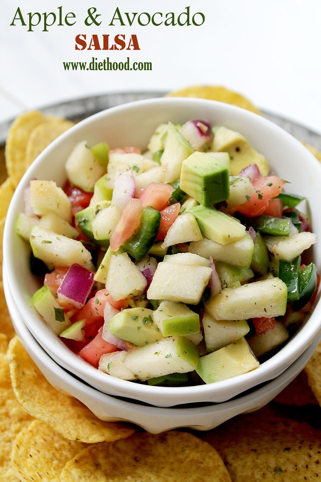 Fresh Apple Salsa Recipe — Dishmaps