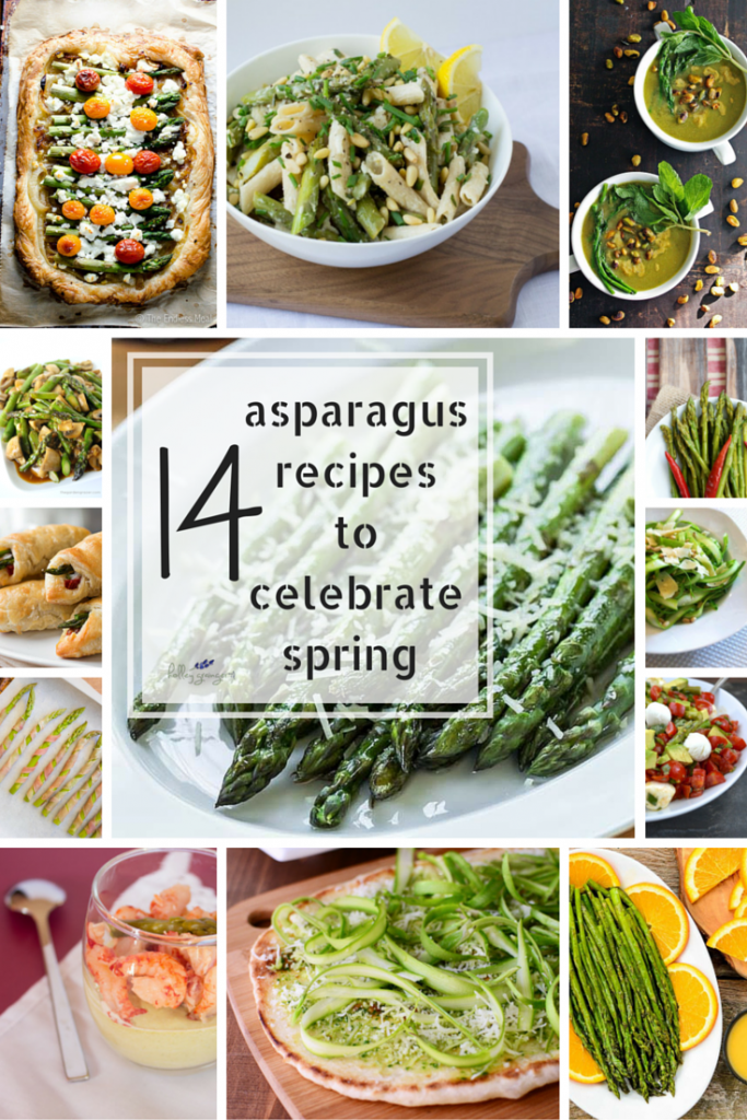 asparagus recipes pin