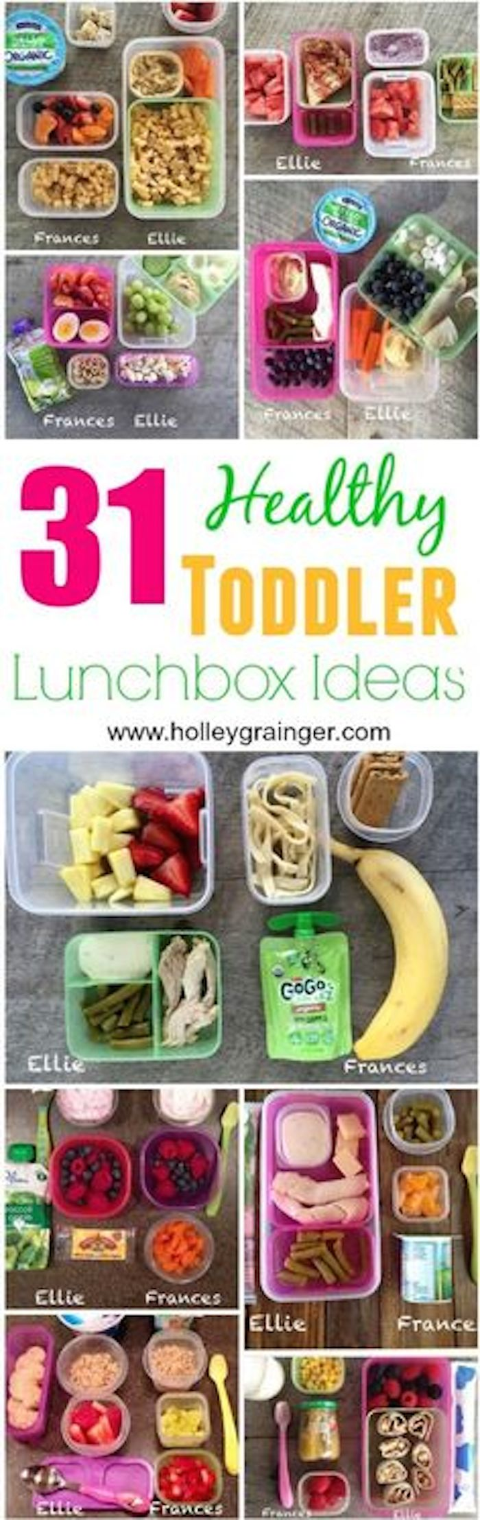 31 Healthy Toddler Lunchbox Ideas