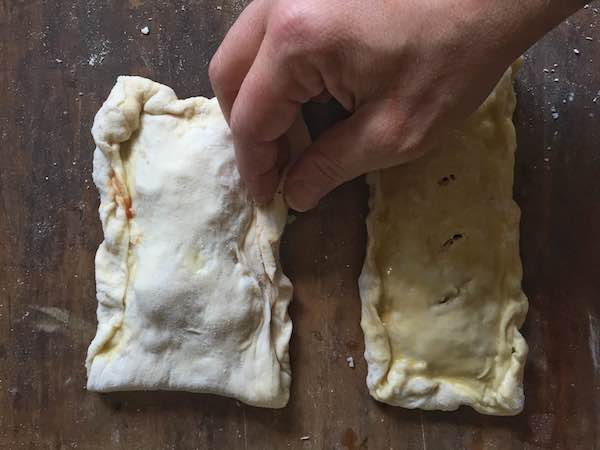 Healthy and Homemade Hot Pockets For a freezer-friendly, portable, and customizable lunch, after-school snack, or dinner, make homemade and healthy hot pockets using your favorite fresh ingredients.