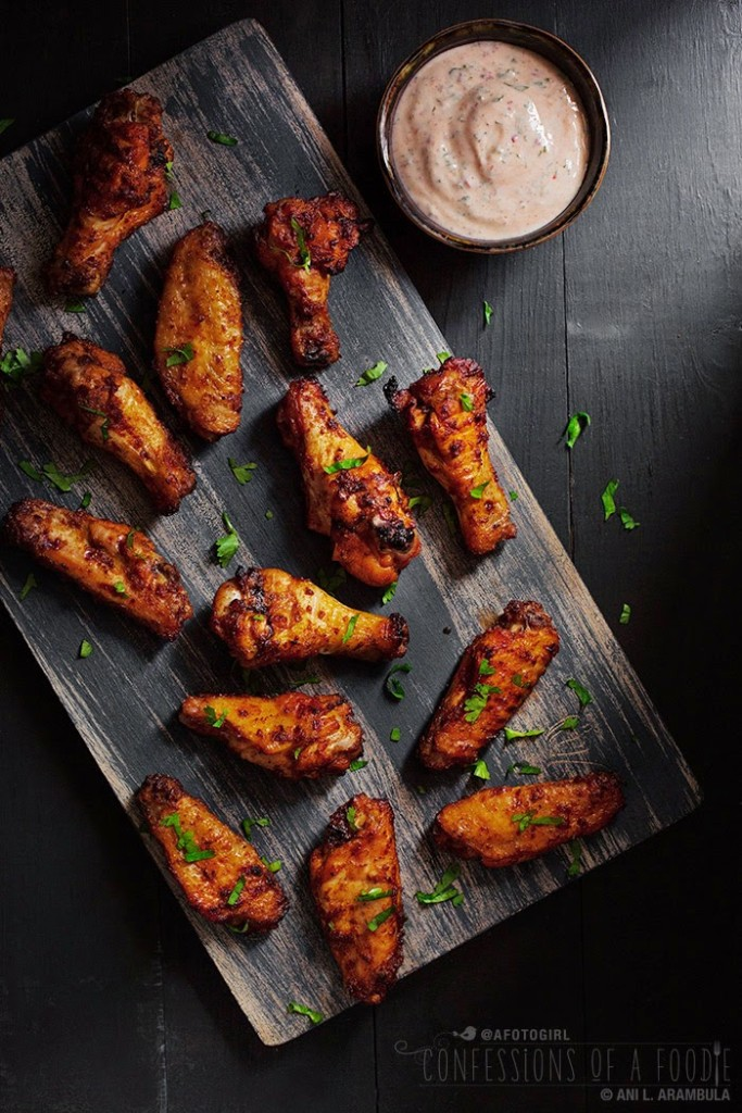 Harissa Chicken Wings