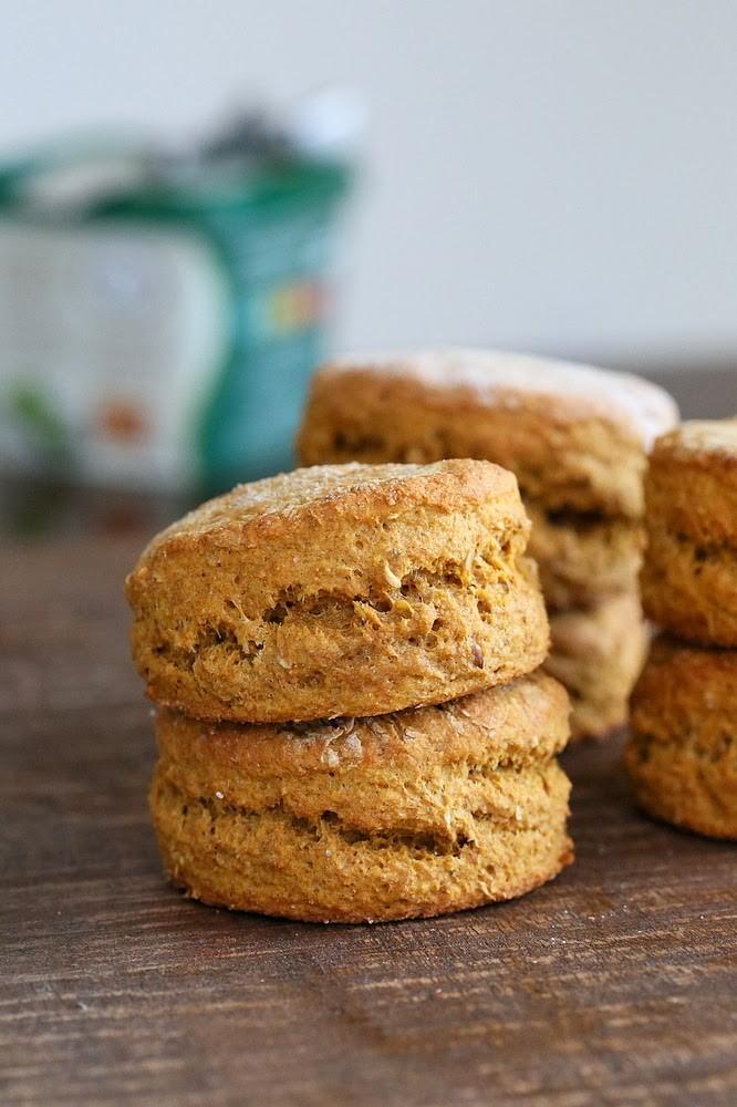 Sweet Potato Spelt Biscuits