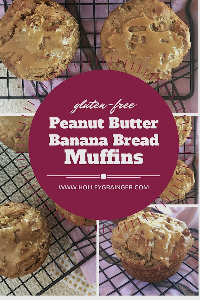 dense, healthy, and delicious Gluten-Free Peanut Butter Banana Bread ...