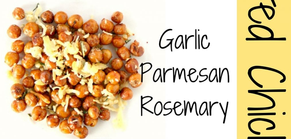 Learn how to make a basic roasted chickpeas then kick the flavor up a notch with these 3 flavors: buffalo, chili lime and garlic parmesan rosemary.