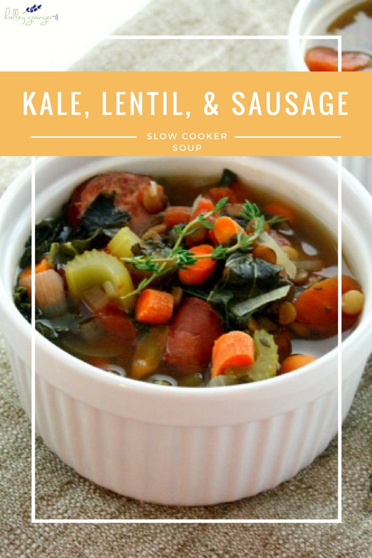 Slow Cooker Lentils And Sausage Recipe — Dishmaps